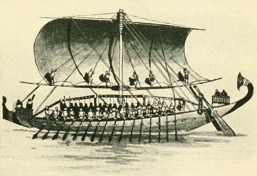 Historic Ships - Egyptian Ship 1200 B.C. (1926)