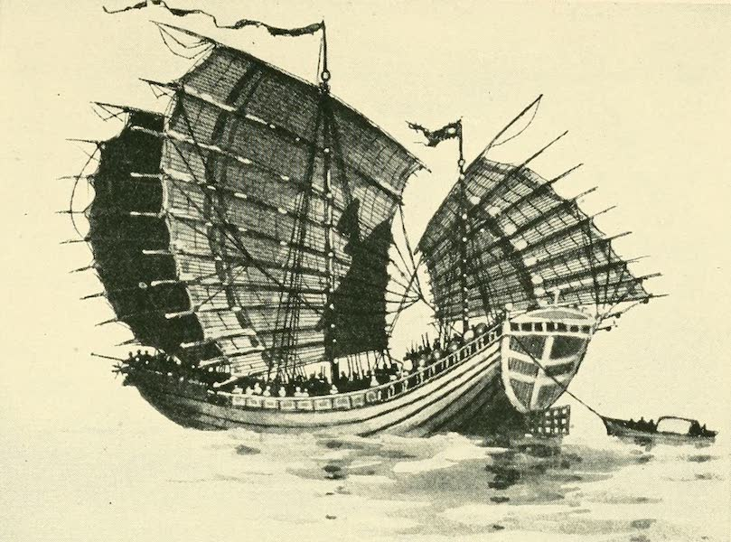 Historic Ships - Chinese Junk of the Twelfth Century (1926)