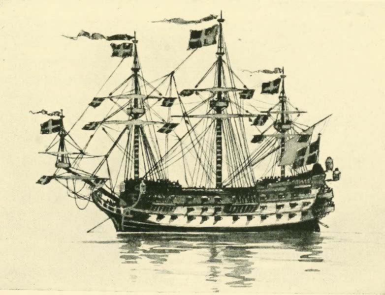 Historic Ships - British Ship of the Line 1610 (1926)