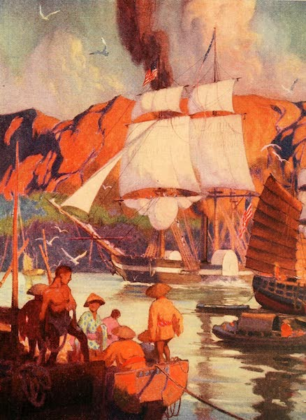 Historic Ships - Amazed at Such Sights, the Japanese Swarmed Out in Their Small Boats (1926)