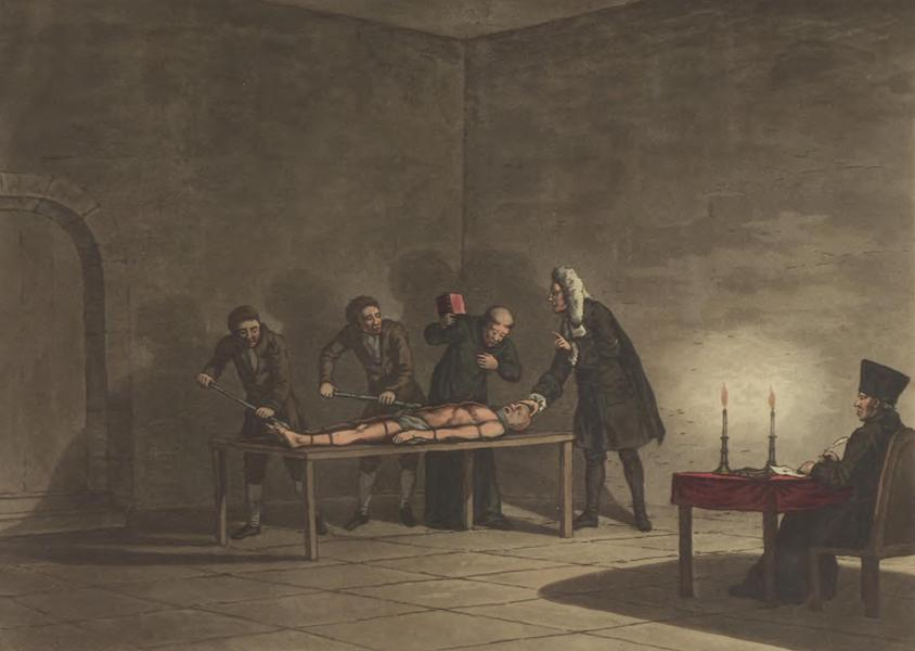 Historical, Military, and Picturesque Observations on Portugal Vol. 1 - First degree of Torture of the Inquisition (1818)