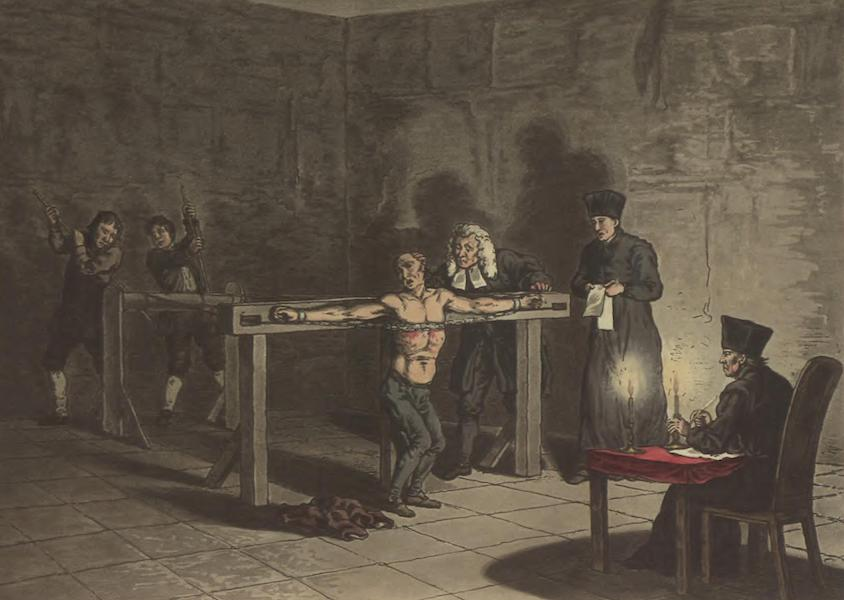 Third degree of Torture of the Inquisition
