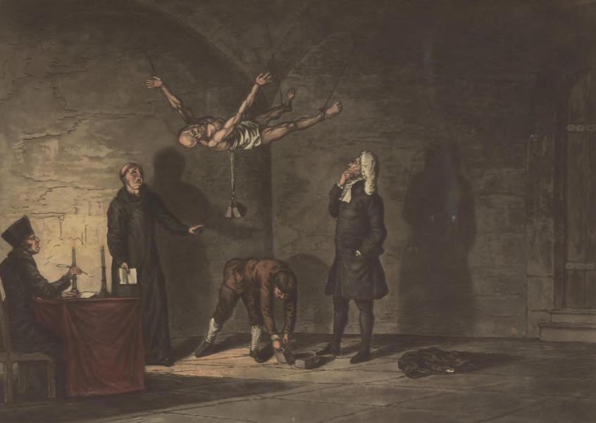 Historical, Military, and Picturesque Observations on Portugal Vol. 1 - Fourth degree of Torture of the Inquisition (1818)