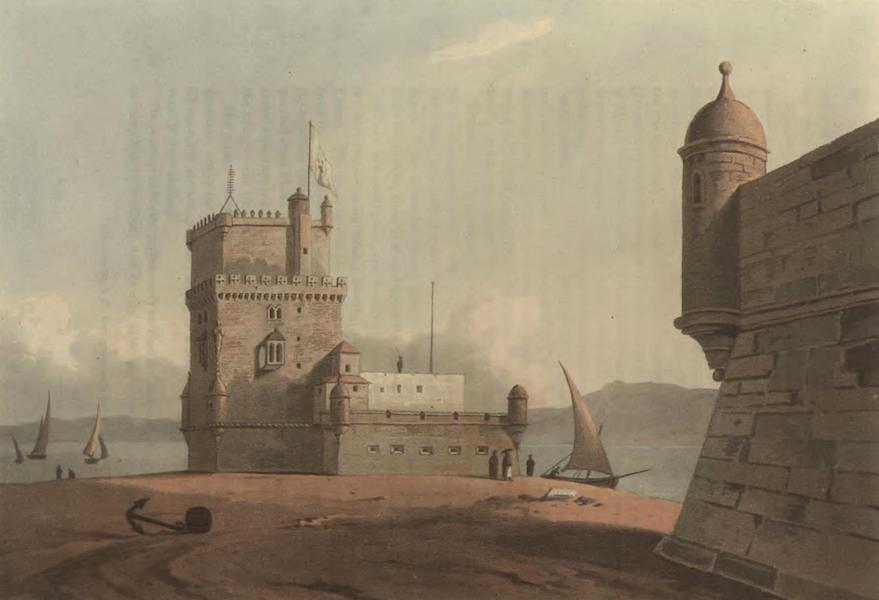 Historical, Military, and Picturesque Observations on Portugal Vol. 2 - Torre Velha de Belem, from the West Estramadura (1818)