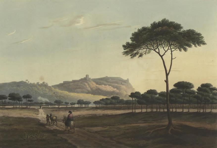 Historical, Military, and Picturesque Observations on Portugal Vol. 2 - Palmella, from the road leading to Moita: Estramadura (1818)