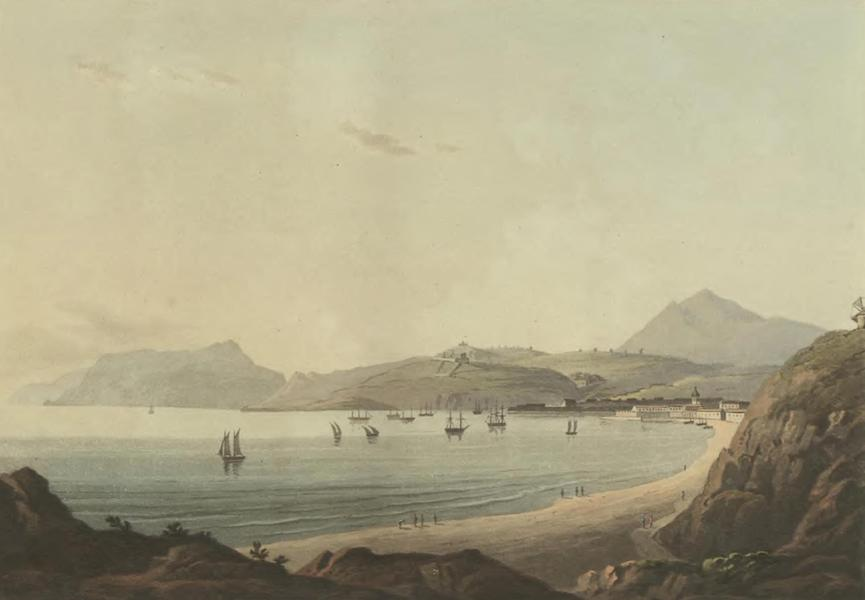 Historical, Military, and Picturesque Observations on Portugal Vol. 2 - Town and Harbour of Setubal (1818)