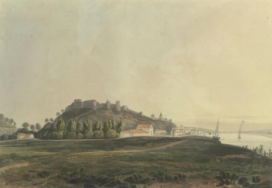 Historical, Military, and Picturesque Observations on Portugal Vol. 2 - Alcacer Sal, anciently called Salacia; from the North Estramadura (1818)