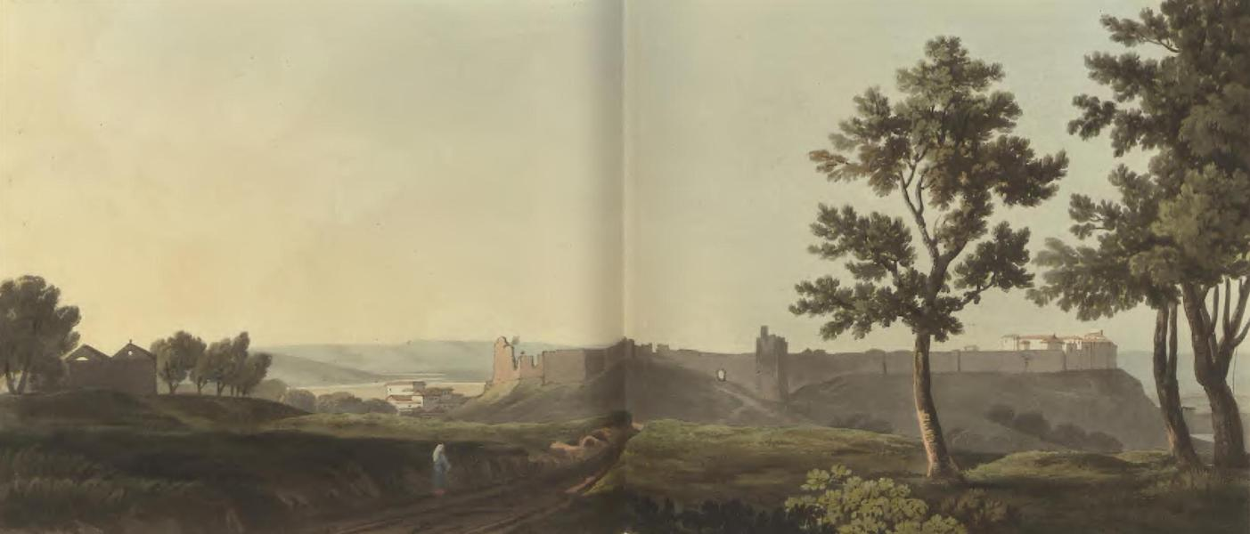 Historical, Military, and Picturesque Observations on Portugal Vol. 2 - Alcacer Sal, anciently called Salacia or Urbs Imperatoria; from the East, Estramadura (1818)