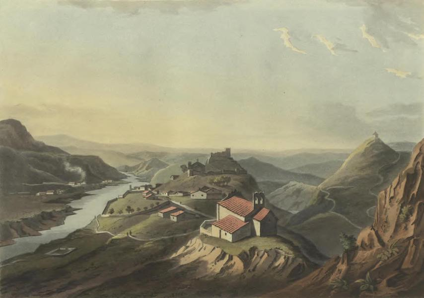 Historical, Military, and Picturesque Observations on Portugal Vol. 2 - Mertola; from the North (1818)