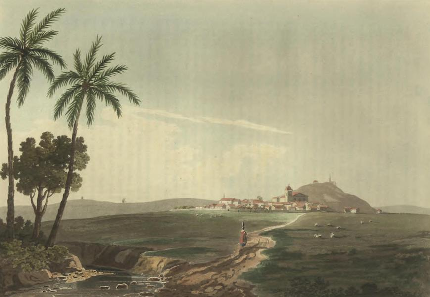 Historical, Military, and Picturesque Observations on Portugal Vol. 2 - Aljustrel, from the East, Alemtejo (1818)