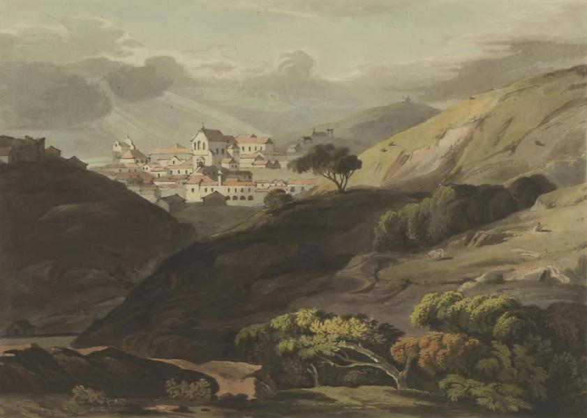 Historical, Military, and Picturesque Observations on Portugal Vol. 2 - Albofeira, from the road leading to Faro: Algarve (1818)