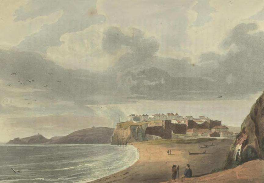 Historical, Military, and Picturesque Observations on Portugal Vol. 2 - Albofeira and Sea Coast, from the East Algrave (1818)