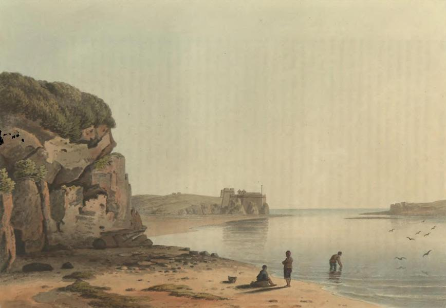 Historical, Military, and Picturesque Observations on Portugal Vol. 2 - Entrance of the Harbour of Portimao, Algarve (1818)