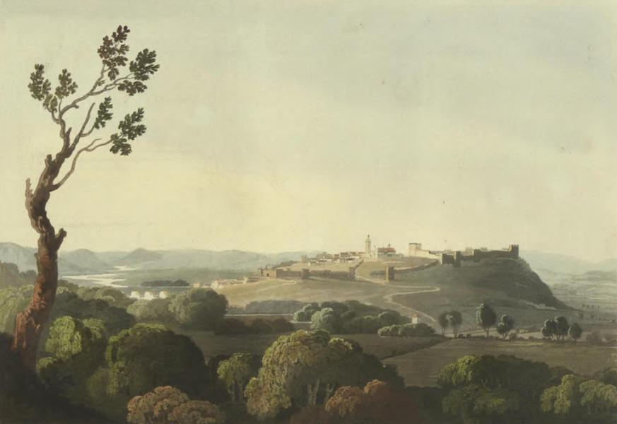 Historical, Military, and Picturesque Observations on Portugal Vol. 2 - Silves, the ancient Capital of Algarve, from the East (1818)