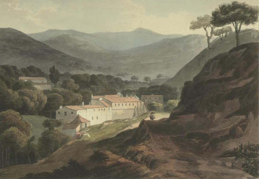 Historical, Military, and Picturesque Observations on Portugal Vol. 2 - Hot Baths, in the Mountains of Monchique, Algarve (1818)