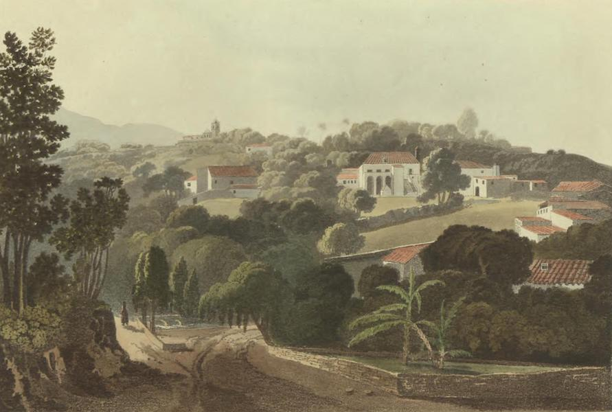Historical, Military, and Picturesque Observations on Portugal Vol. 2 - Monchique near Cape San Vicente Algarve (1818)