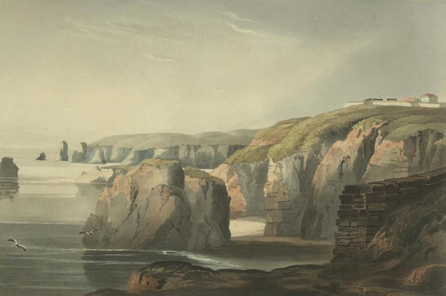 Historical, Military, and Picturesque Observations on Portugal Vol. 2 - Sea-Coast near Lagos, and the Battery called O Pinhao Algarve (1818)