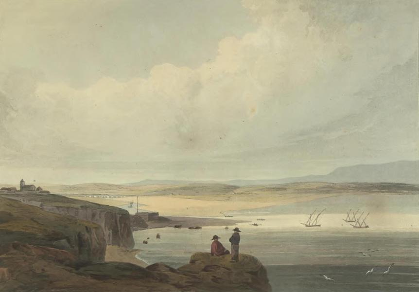 Historical, Military, and Picturesque Observations on Portugal Vol. 2 - Bay and Harbour of Lagos, from O Pinhao Algarve (1818)