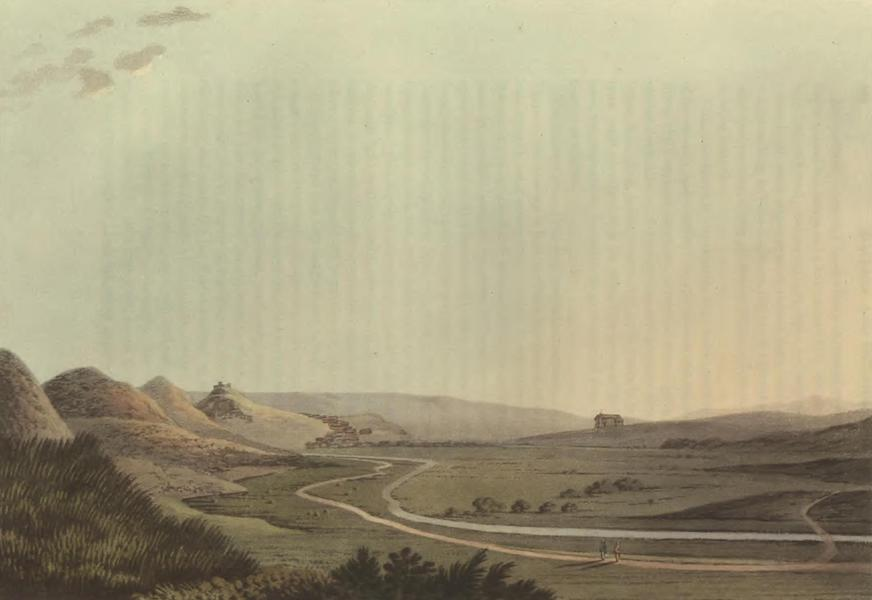 Historical, Military, and Picturesque Observations on Portugal Vol. 2 - Aljezur from the South Algarve (1818)
