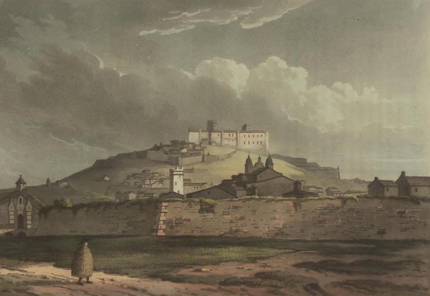 Historical, Military, and Picturesque Observations on Portugal Vol. 2 - Estremoz, from the Road leading to Elvas, Alemtejo (1818)