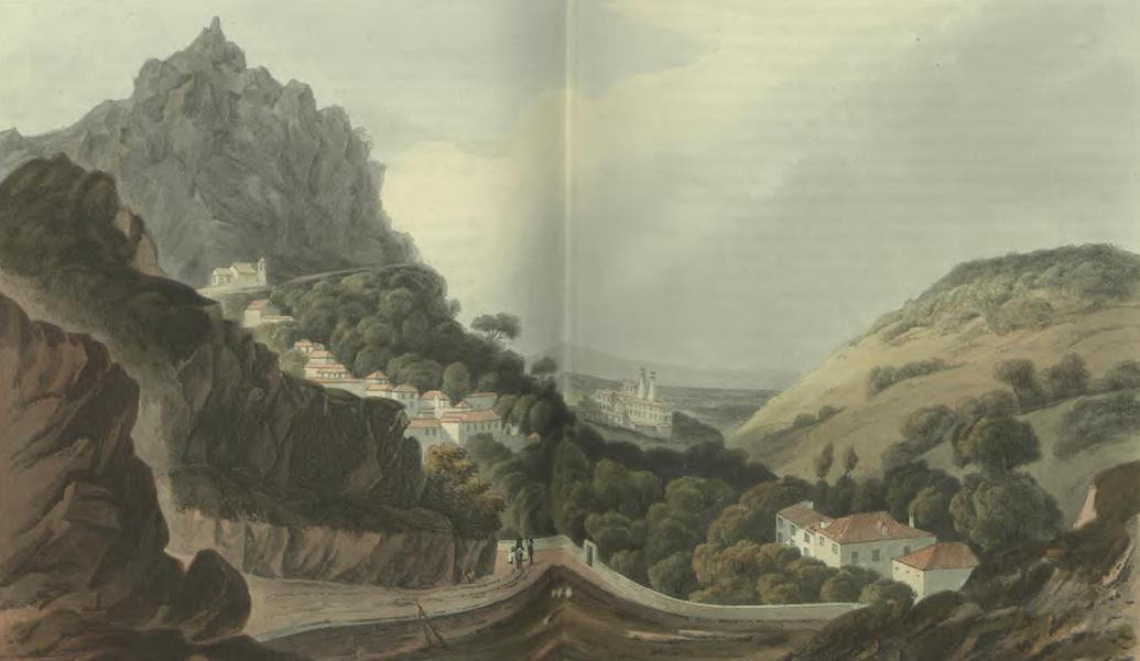 Historical, Military, and Picturesque Observations on Portugal Vol. 2 - Cintra from the Liboa-road Estramadura (1818)