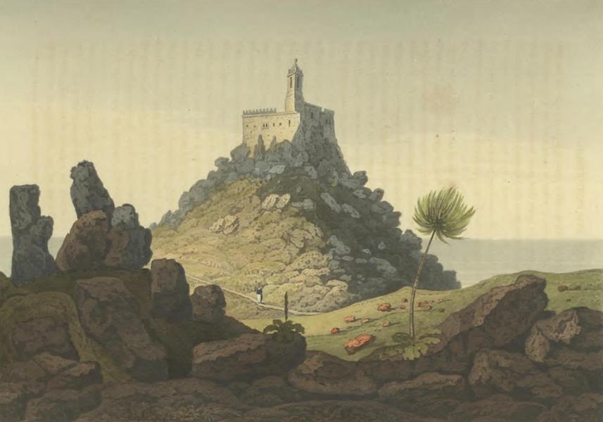 Historical, Military, and Picturesque Observations on Portugal Vol. 2 - Convent on the highest part of the Rock of Lisboa Estramadura (1818)