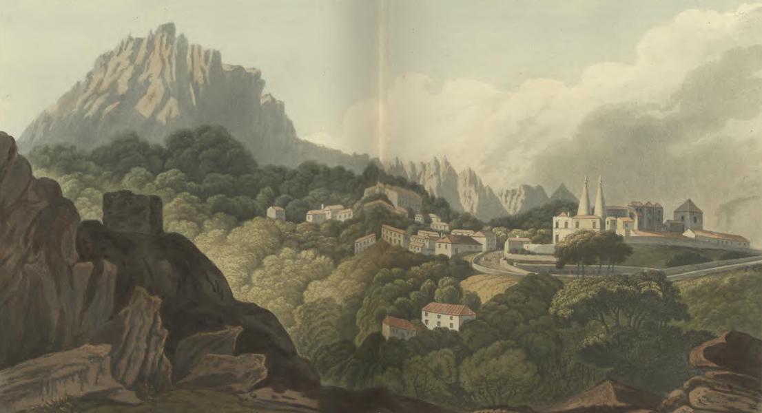 Historical, Military, and Picturesque Observations on Portugal Vol. 2 - Cintra, from the Road leading to Mafra; Estramadura (1818)