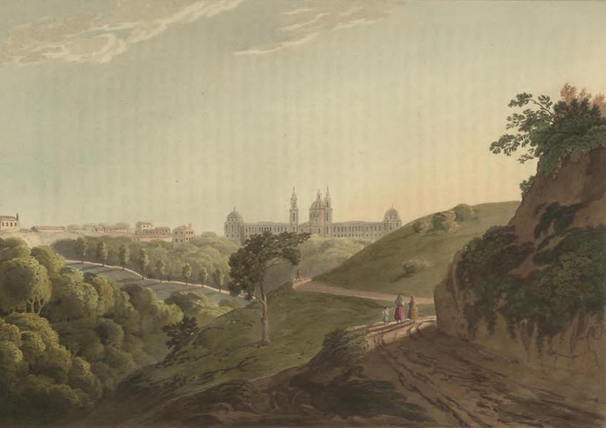 Historical, Military, and Picturesque Observations on Portugal Vol. 2 - Royal Palace of Mafra, Estramadura (1818)