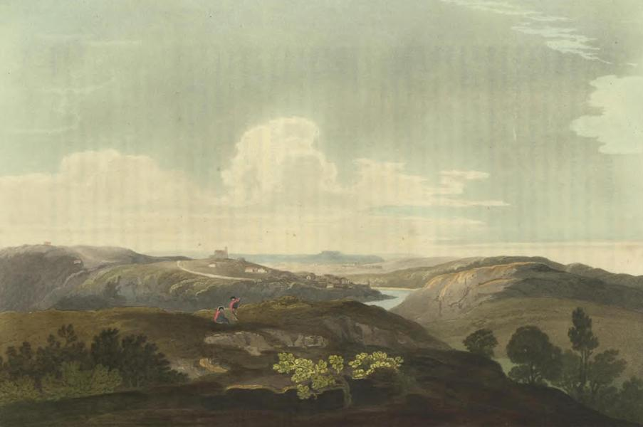 Historical, Military, and Picturesque Observations on Portugal Vol. 2 - Punhete, at the junction of the River Zerere with the Tejo: Estramadura (1818)