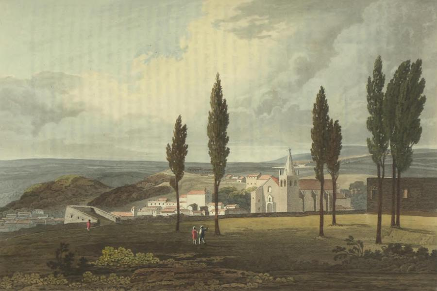 Historical, Military, and Picturesque Observations on Portugal Vol. 2 - From the Castle at Abrantes, anciently called Tubuci: Estremadura (1818)