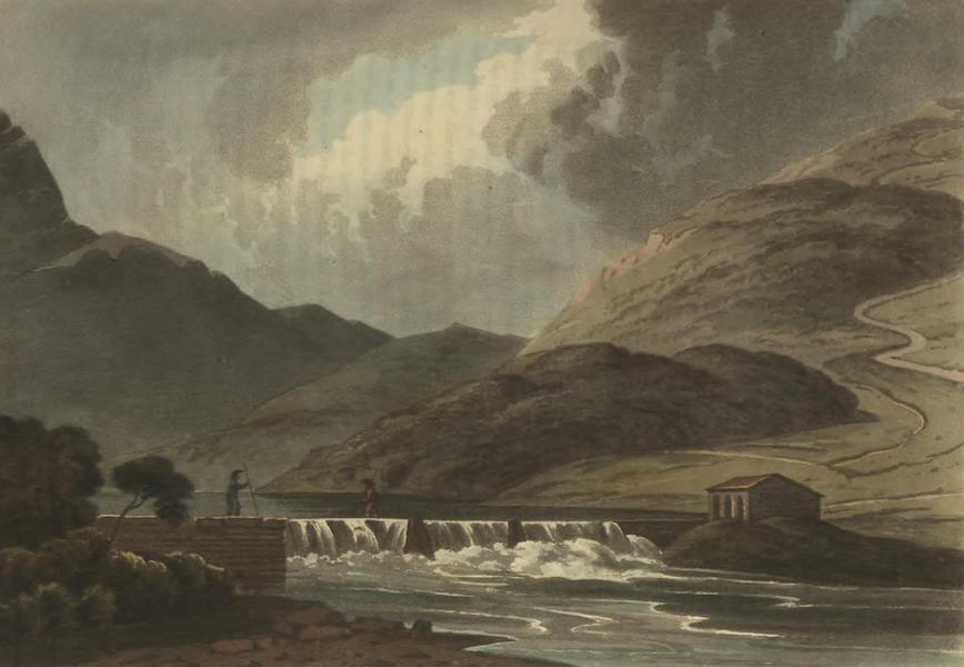 Historical, Military, and Picturesque Observations on Portugal Vol. 2 - Ford on the River Sever, between Montalvao in Portugal, and Herrera in Spain: Alentejo (1818)