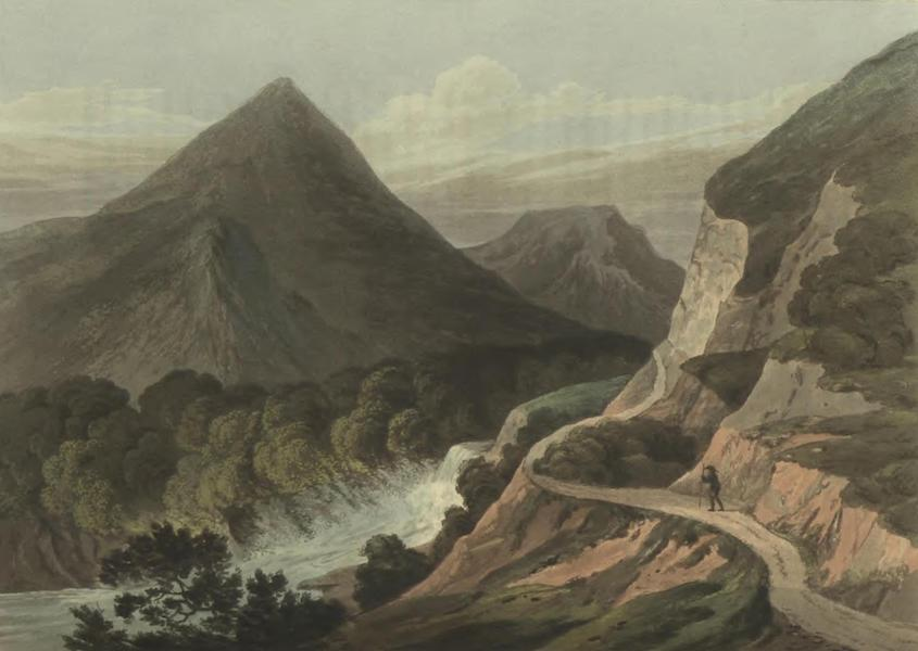 Historical, Military, and Picturesque Observations on Portugal Vol. 2 - Pass in the mountains near Ladeira: Beira (1818)