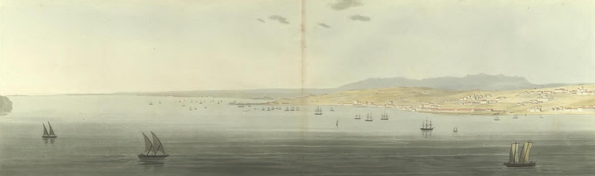 Historical, Military, and Picturesque Observations on Portugal Vol. 2 - View up the Tejo  (1818)