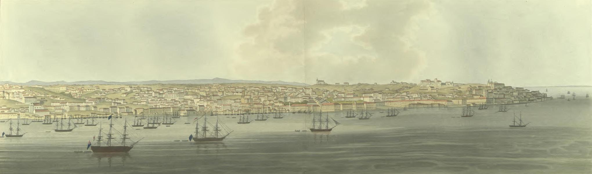Historical, Military, and Picturesque Observations on Portugal Vol. 2 - Mouth of the Tejo (1818)