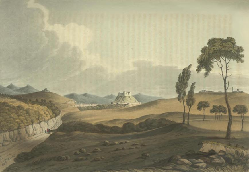 Historical, Military, and Picturesque Observations on Portugal Vol. 2 - Torres-Vedras from the North: Estremadura (1818)