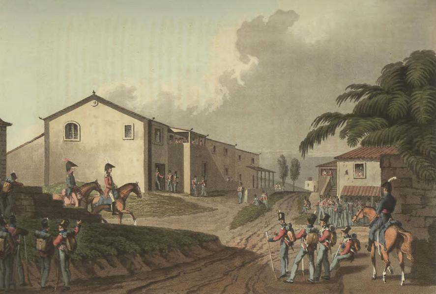 Historical, Military, and Picturesque Observations on Portugal Vol. 2 - Sir Arthur Wellesley's Quarters, Vimieiro, 21st & 22nd Aug 1808 Estremadura (1818)
