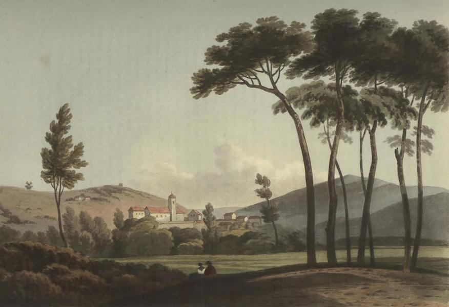 Historical, Military, and Picturesque Observations on Portugal Vol. 2 - Vimieiro from near the road leading to Lorinha Estramadura (1818)