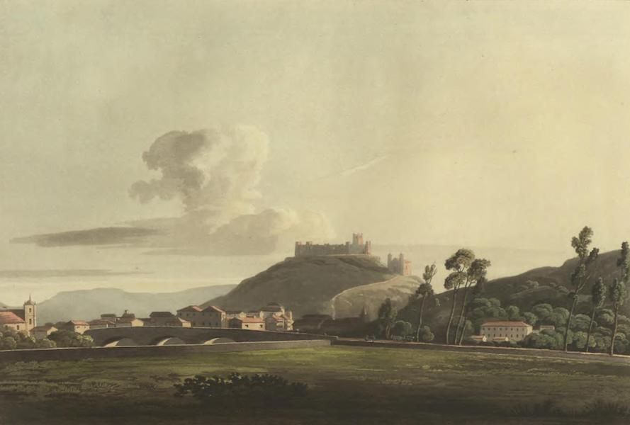Historical, Military, and Picturesque Observations on Portugal Vol. 2 - Pombal and Bridge, from the South-west Estremadura (1818)