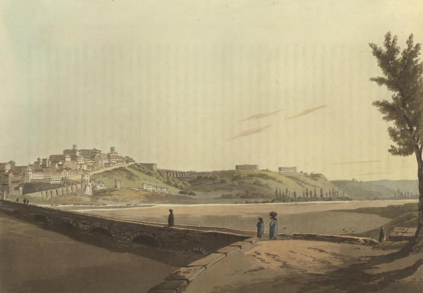 Historical, Military, and Picturesque Observations on Portugal Vol. 2 - City of Coimbra, anciently called Conimbra, from near the Bridge Beira (1818)