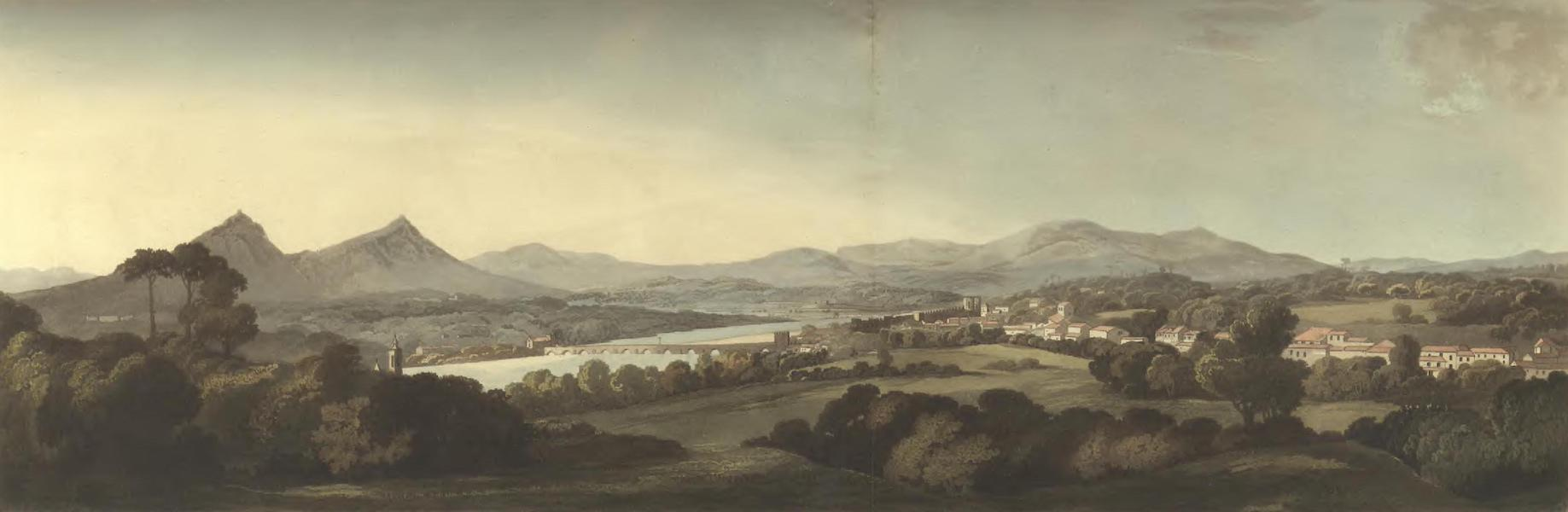 Historical, Military, and Picturesque Observations on Portugal Vol. 2 - Fountain opposite the Inn at Ponte de Lima, Entre Douro-e-Minho (1818)