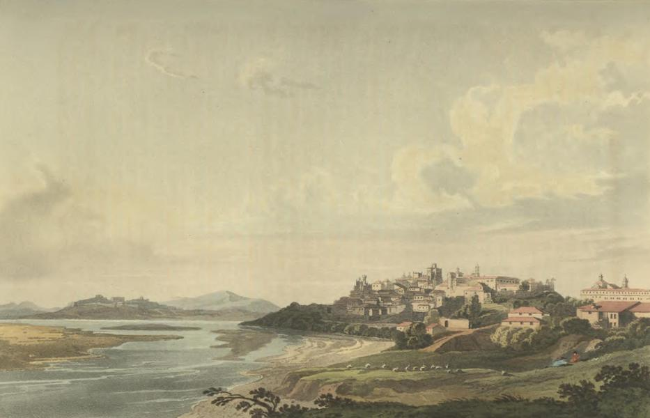 Historical, Military, and Picturesque Observations on Portugal Vol. 2 - City of Tuy on the Mino; Galicia (1818)