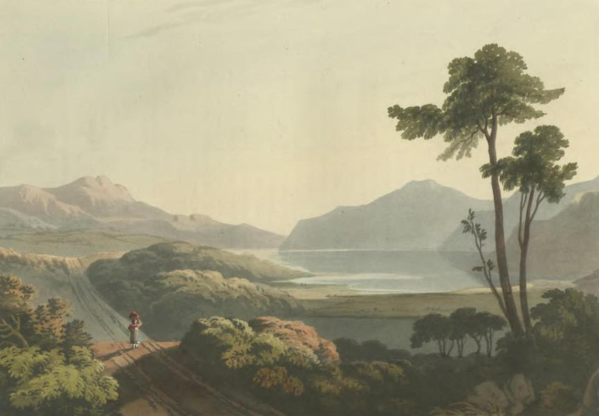 Historical, Military, and Picturesque Observations on Portugal Vol. 2 - Head of the Bay of Vigo between Puente San Payo and Ponte Vedra, Galicia (1818)