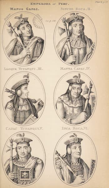 Historical Researches on the Conquest of Peru, Mexico - Emperors of Peru [I] (1827)