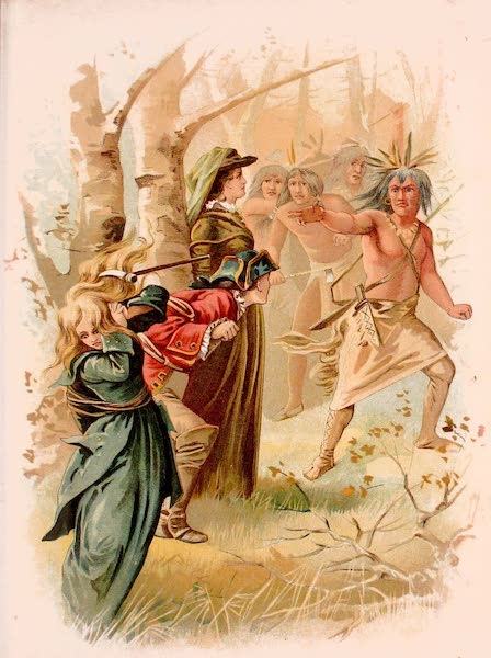 Historical Stories of American Pioneer Life - The Last of the Mohicans - Cora a Prisoner to the Hurons (1897)