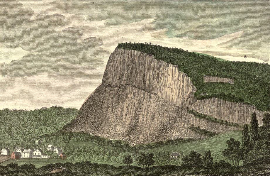 History and Antiquities of New Haven - West Rock in New Haven (1831)