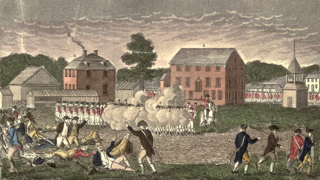 History and Antiquities of New Haven - Battle of Lexington (1831)