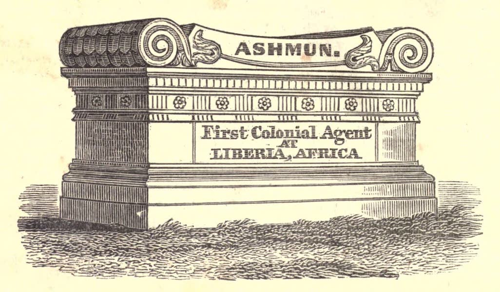 History and Antiquities of New Haven - Ashmun's Tomb (1831)
