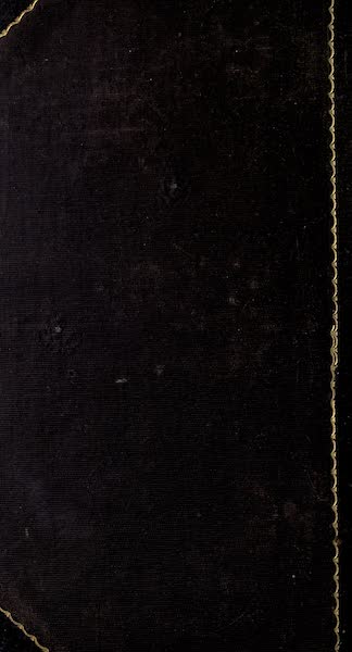 History and Antiquities of New Haven - Back Cover (1831)