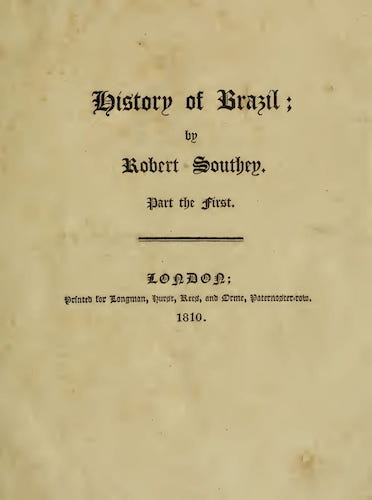 English - History of Brazil Vol. 1