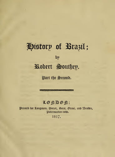 English - History of Brazil Vol. 2